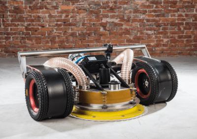 VertiDrive No-emissions, closed-loop M4 Robot