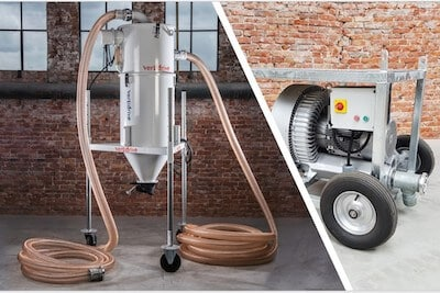 vacuum waste collection system